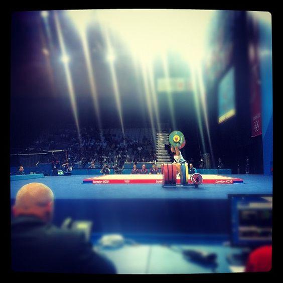 samnsteel's photo  of London 2012 venue - ExCel - South Arena Three on Instagram