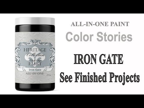 All In One Chalk Style Paint Featuring