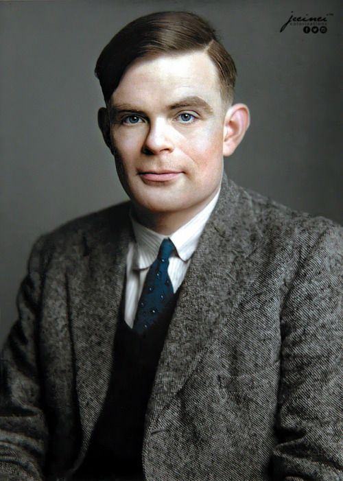 """Alan Turing - """"The father Artificial Intelligence"""" A fantastic man, who was  treated dreadf… 