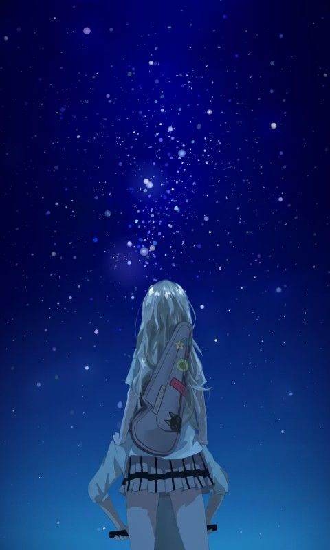 Anime wallpaper your lie in april