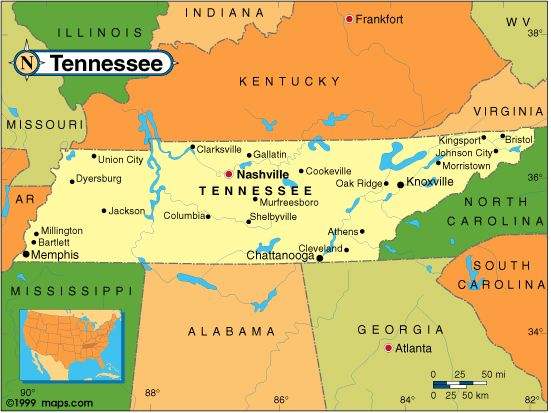 Tennessee Map Vacation Planning Smokies Pinterest Vacation - Mapa de tennessee