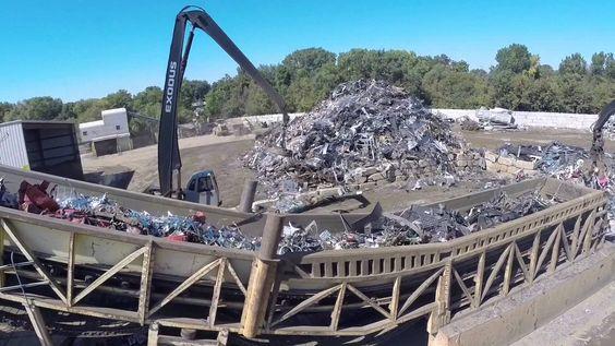 Copper Recycling In Dubai Scrap Yards Copper Aluminum Ferrous Scrap Dubai Lucky Recycling Recycling Scrap Recycling Scrap Metal