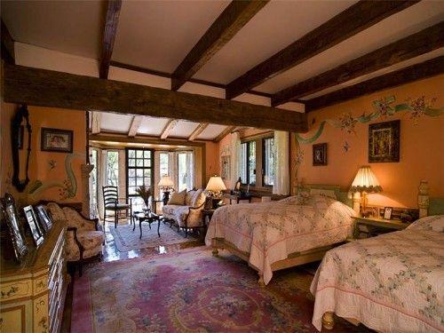 Superior Farmhouse Bedroom | Hacienda Farm House Master Bedroom Design | Country  Bedrooms | Pinterest | Haciendas, Hacienda Style And Farm House