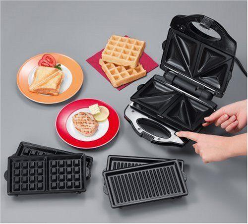 Waffeleisen Test: Sandwichmaker 3 in 1 Test – Achtung bei Sandwichma...