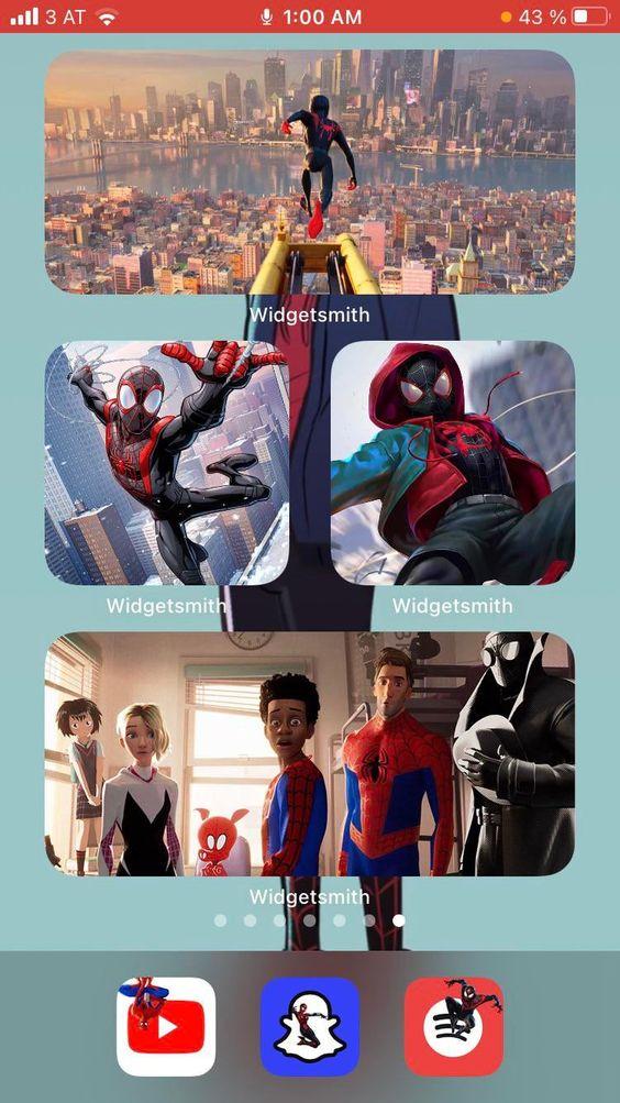 Home Screen Spiderman Iphone Wallpaper