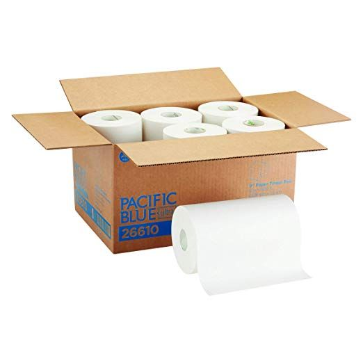 Pacific Blue Ultra 9 Paper Towel Roll Previously Branded Sofpull By Gp Pro Georgia Pacific White 26610 400 F In 2020 Pacific Blue Paper Towel Paper Towel Rolls