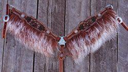 Hooligans Angora Breast Collar from Hooligan Designs $440