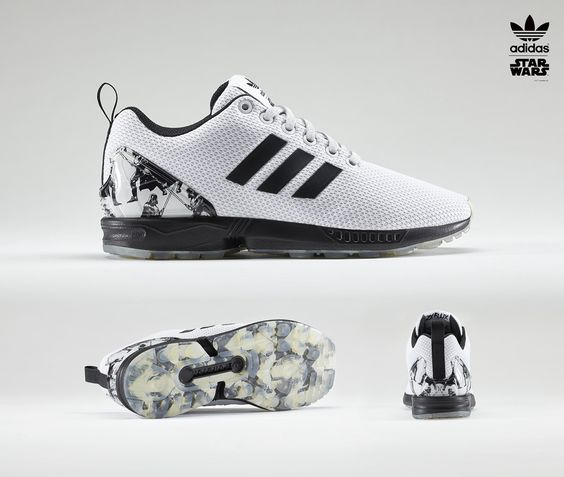 Star Wars adidas Sneakers ZX Flux | Sole Collector | Happy Feet... |  Pinterest | Adidas women, Adidas and Adidas superstar