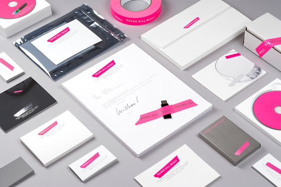 * Round Hill Music identity .... simple - just tape. Swarm has an identity which this concept as well. ..... herehttp://www.aigapda.com/gallery/alana/swarm/