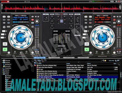 descarga Skins para Virtual DJ Septiembre 2013 ~ Descargar pack remix de musica gratis   La Maleta DJ gratis online