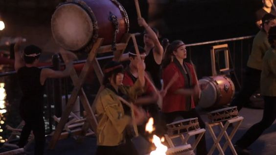 Gendo Taiko of Brown University has filled the rivers of Providence with powerful traditional Japanese percussion music by performing at WaterFire.  Learn when you can see Gendo Taiko and other entrancing musical performances at WaterFire by visiting www.waterfire.org!