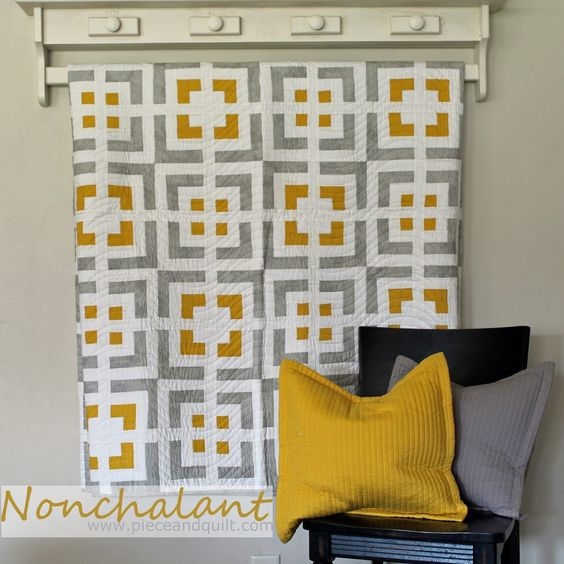 Piece N Quilt: Nonchalant - Cabin Fever: 20 Modern Log Cabin Quilts: