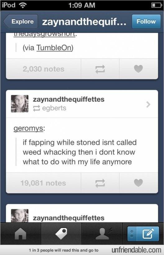 Weed Whacking...