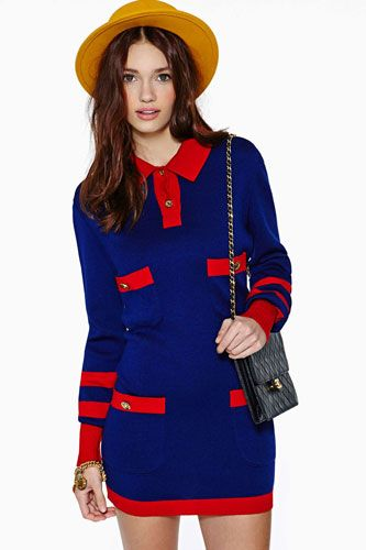 Nasty Gal Vintage  Vintage Chanel, even with the hefty price tag, is still vintage Chanel. And, Nasty Gal's got a lot more where that came from. In fact, it has hundreds of vintage gems safely tucked within its regular retail.  Chanel Valérie Wool Dress $2,200, available at Nasty Gal.