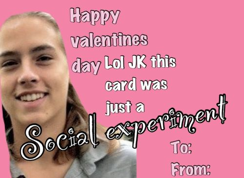 Oh you naughty Calum. | Valentine Day cards. | Pinterest