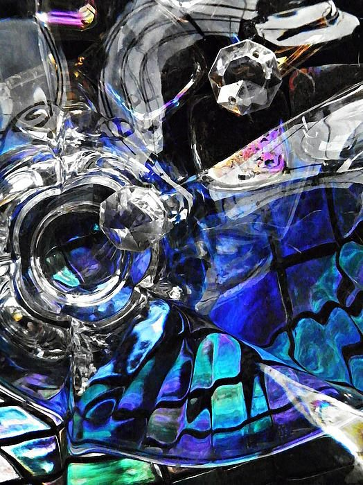 Glass Abstract 153 Photograph by Sarah Loft