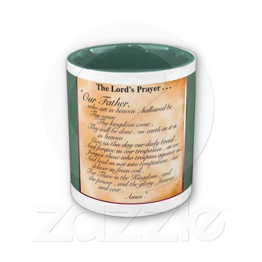 The Lord Prayer Coffee Mug