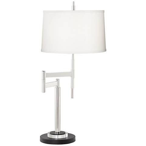 Kathy Ireland Stiletto Swing Arm Desk Lamp 58n66 Lamps Plus Lamp Lamps Plus Desk Lamp