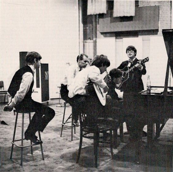 """June 1, 1964 - The Beatles recorded """"I'll Be Back"""" in 16 takes. John Lennon created the song based on reworking the chords of Del Shannon's """"Runaway"""" which had been a UK hit in April 1961. •• #thebeatles #johnlennon #paulmccartney #georgeharrison #ringostarr #thisdayinmusic #1960s #aharddaysnight"""