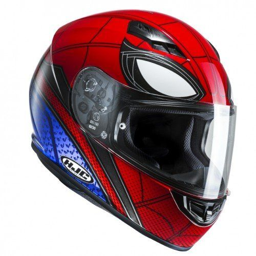 Hjc Casco Moto Cs15 Spiderman Home Coming M Amazon It Auto E Moto Casco Moto Caschi