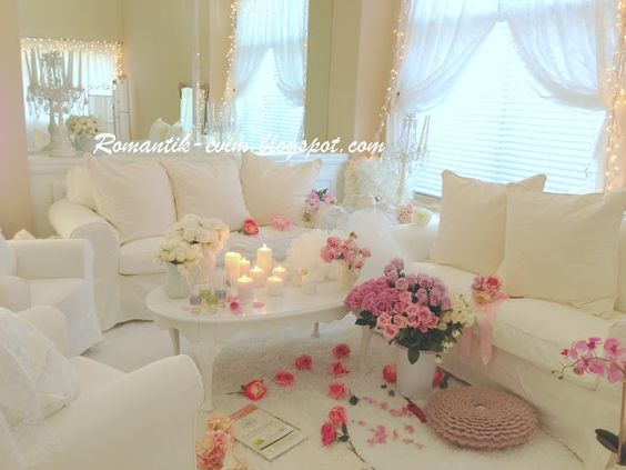 Romantic living room design romantic living romantic for B day decoration at home