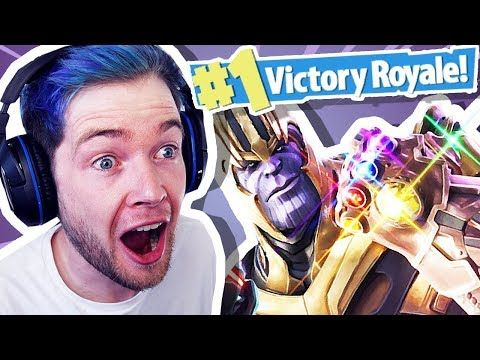 Dantdm Reacts To Thanos In Fortnite Minecraft Videos - dantdm fortnite events