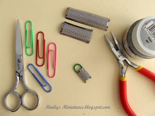 Minilys Miniatures: Tutorial: Mini rallador de cocina