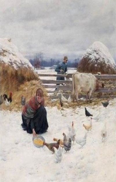 The Farm Life..Painting: