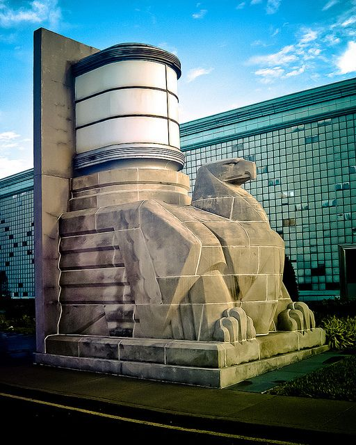 Art Deco - Streamline Moderne Eagle