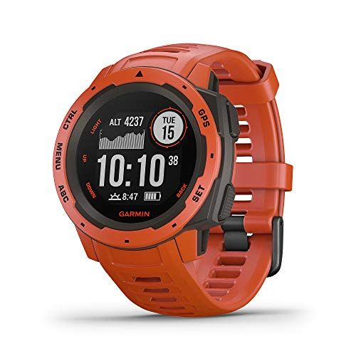 Garmin Instinct Rugged Outdoor Watch With Gps Features Glonass
