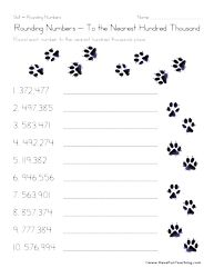 Worksheets Super Teacher Worksheets Rounding super teacher worksheets rounding printable hundreds charts 17 best images about math on pinterest