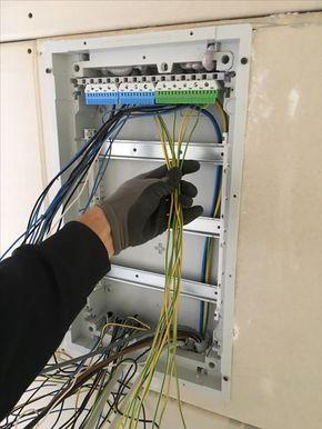 Wie Unterverteiler Einbauen Und Verdrahten Elektroinstallation Haus Elektroinstallation Selber Machen Elektroinstallation