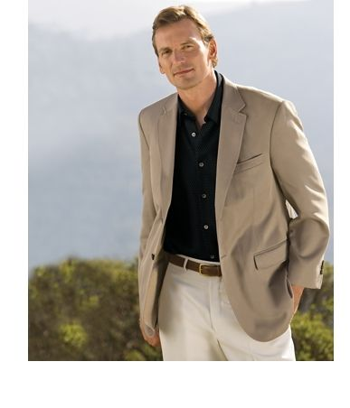 Tropical Microfiber Sport Coat Our microfiber sport coat is ...