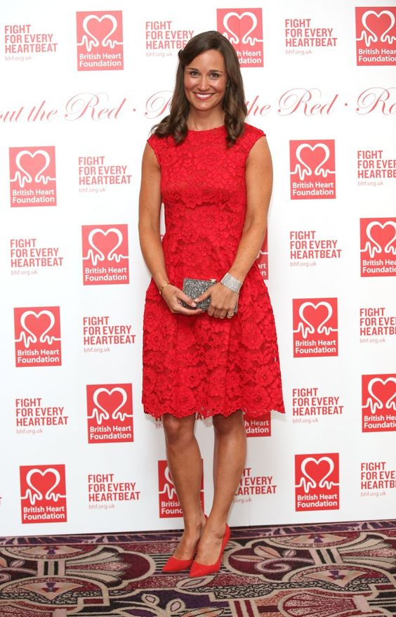 Pin for Later: Stars Rolled Out the Red (and the Black) Last Night Pippa Middleton Pippa wore a head-to-toe look by CH Carolina Herrera.