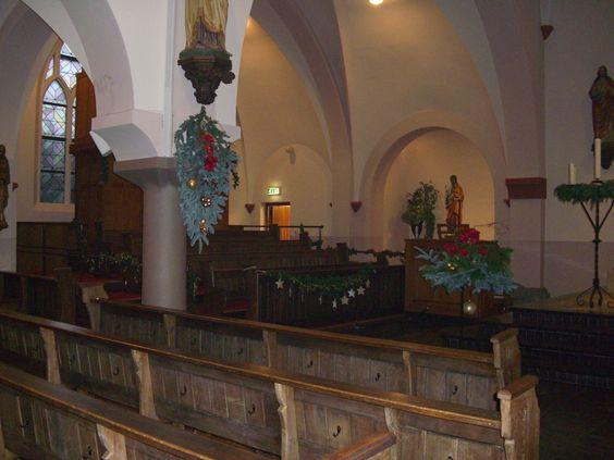 St. Antonius Abt kerk, Eindhoven. Kerst 2014