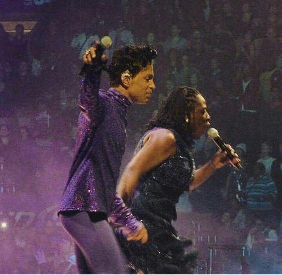 Prince and Sharon Jones