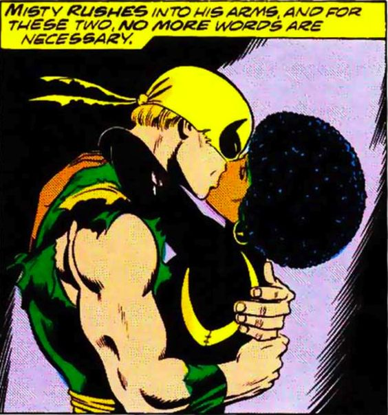 Image result for ironfist and misty knight