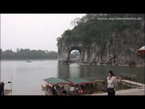 Elefant Trunk Hill (象鼻山)  the most famous landmark of Guilin (桂林市) #video published by http://www.myvideomedia.com  #china #travel