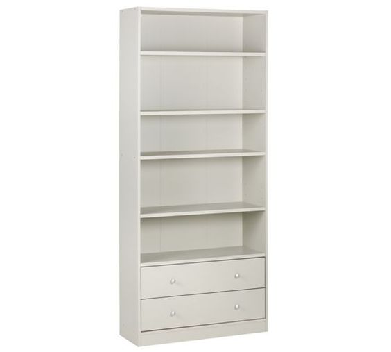 Home Maine Extra Deep Bookcase Putty At Argos Co Uk Your