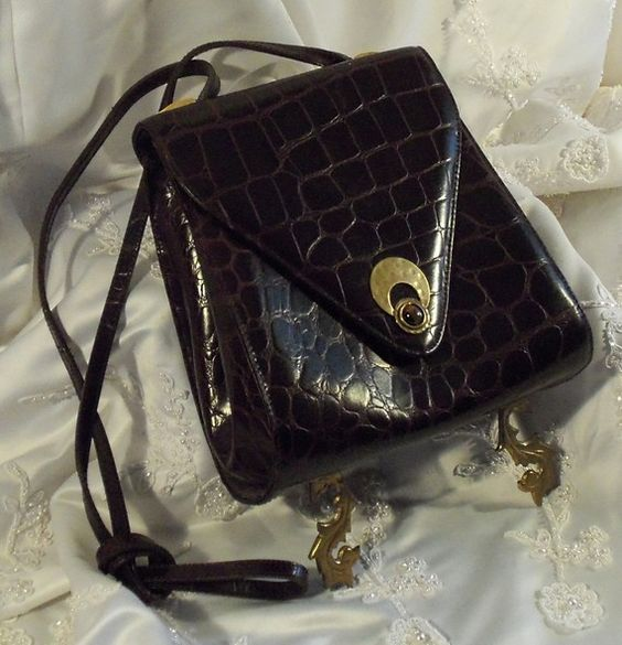 Steampunk Handbag, Weapon Wear Purse, Chocolate brown Handbag with Tiger's Eye.  Bold Bad Ass Bag.