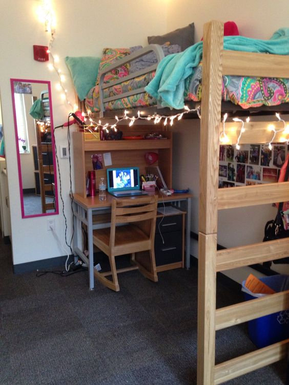 BGSU dorm  College dorm room ideas  Pinterest  Awesome  ~ 103902_Clemson Dorm Room Ideas