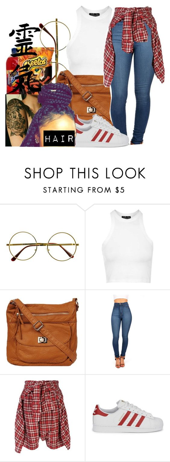 """untitled #78"" by yani122 ❤ liked on Polyvore featuring Retrò, Topshop, R13 and adidas Originals"