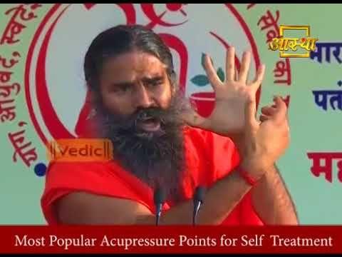 Acupressure Point By Baba Ramdev Youtube Acupressure Points Acupressure Arm Workout Women No Equipment