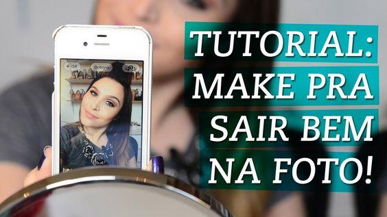 Tutorial: maquiagem pra sair bem na foto