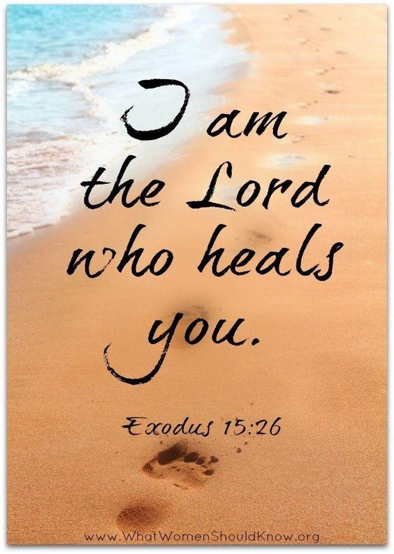 Exodus 15:26 More: