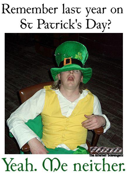 St Patricks Day humor Premium Irish nonsense PMSLweb