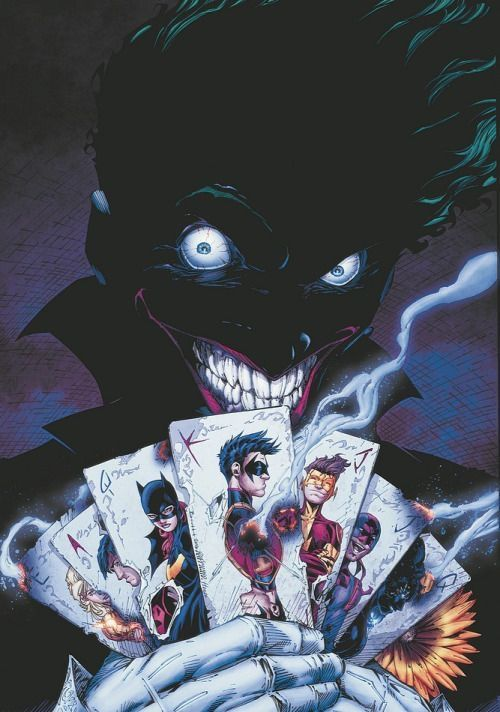 Coringa e as Cartas dos Titãs.