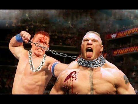 2 Wwe 2017 Brock Lesner Vs John Cena World Heavyweight Champion Youtube Action Movies Youtube John Cena