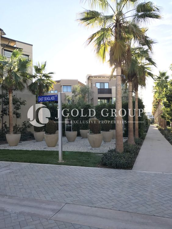 Entrance driveway to the Asher development in Playa Vista, CA.