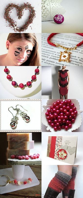 cranberry love by Cynthia on Etsy--Pinned with TreasuryPin.com